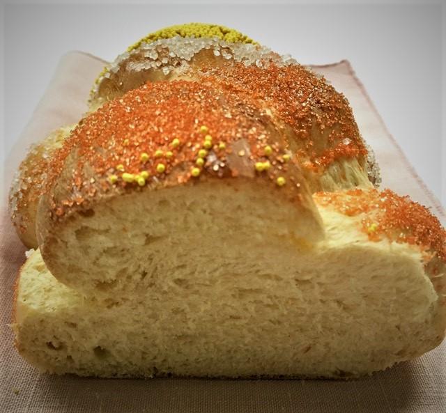 Citrus Challah Bread