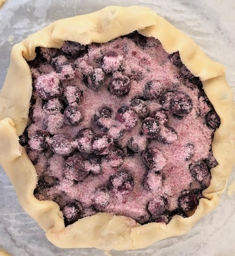 Folding Blueberry Crostata