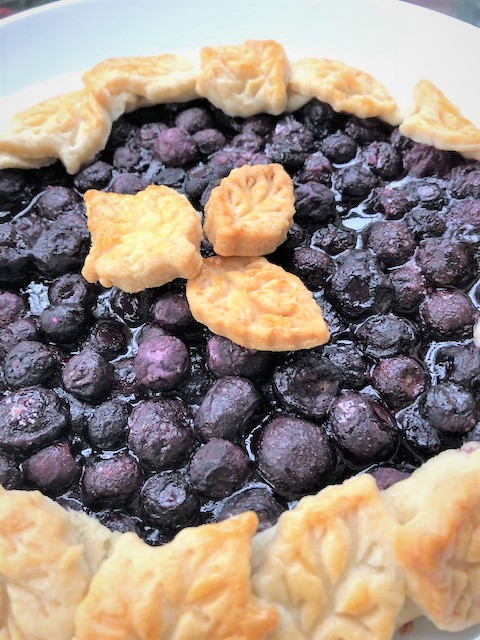 Baked Blueberry Crostata