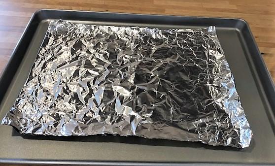 foil template for cornucopia