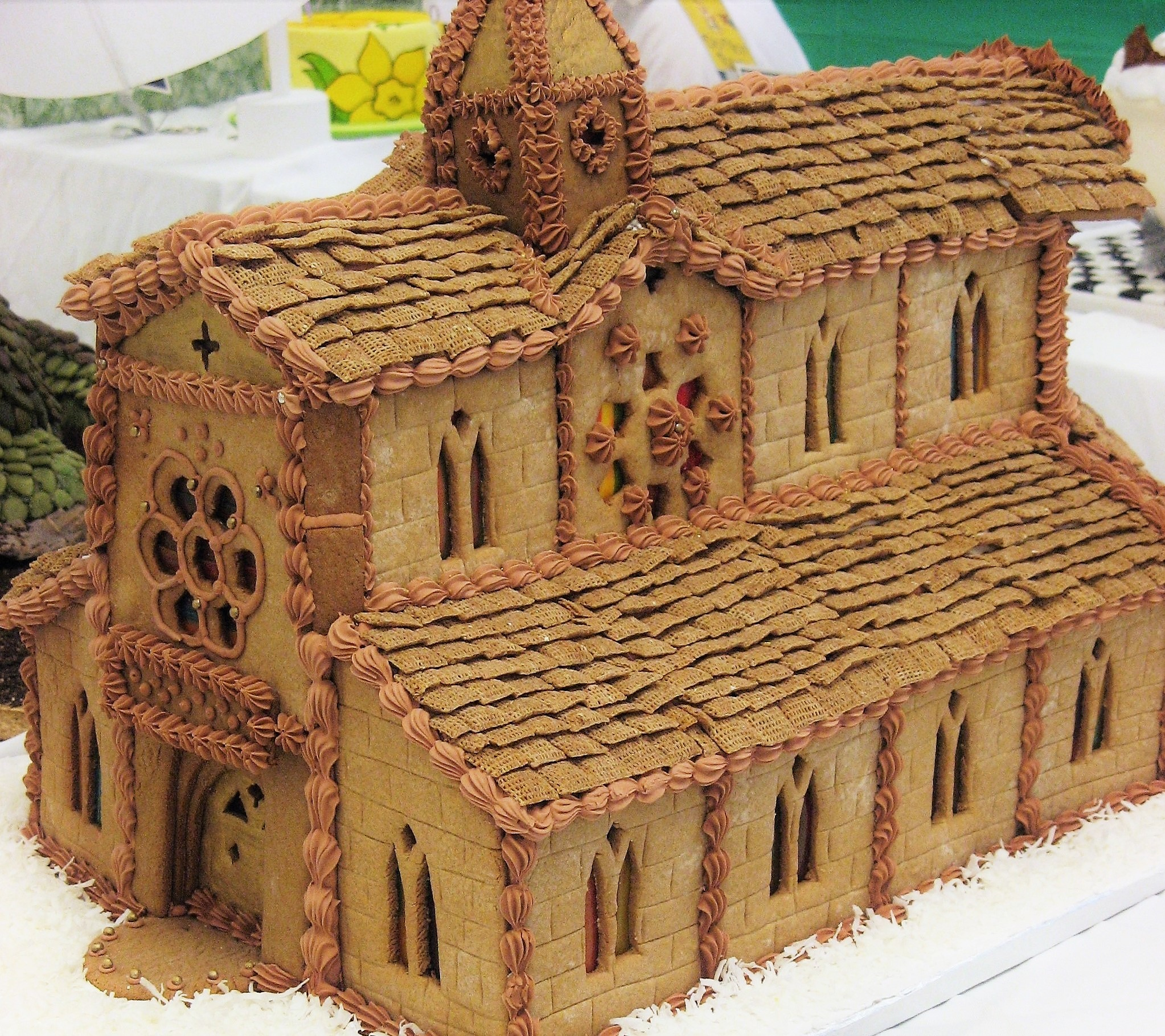 Notre Dame Cathedral Gingerbread House