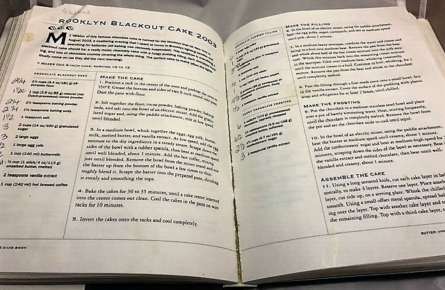 The Cake Book recipe
