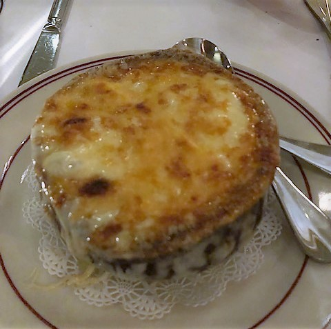 French Onion Soup in a bowl