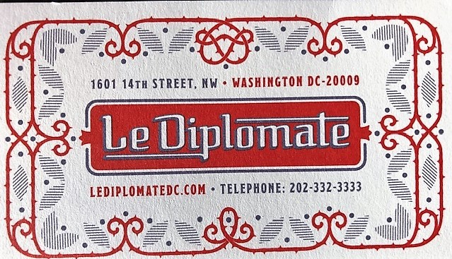 LeDiplomat business card
