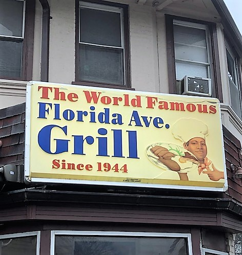 Fl Avenue Grill sign
