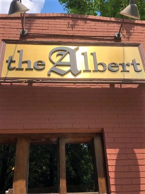the Albert resturant door inman park