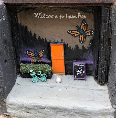 tiny doors inman park artist