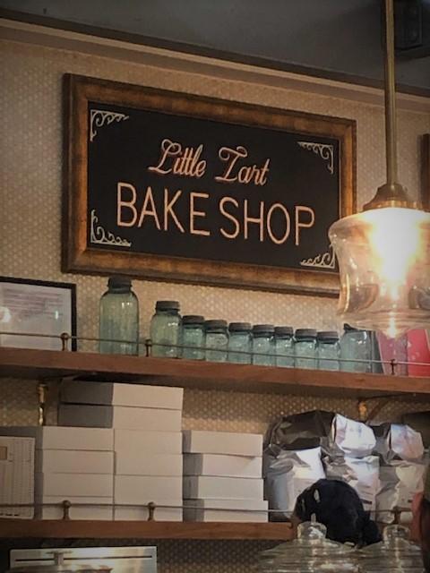 little tart bake shop sign