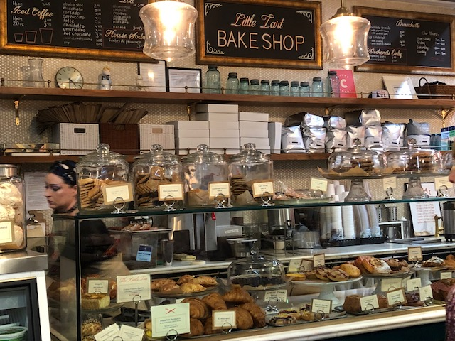 little tart bakery window