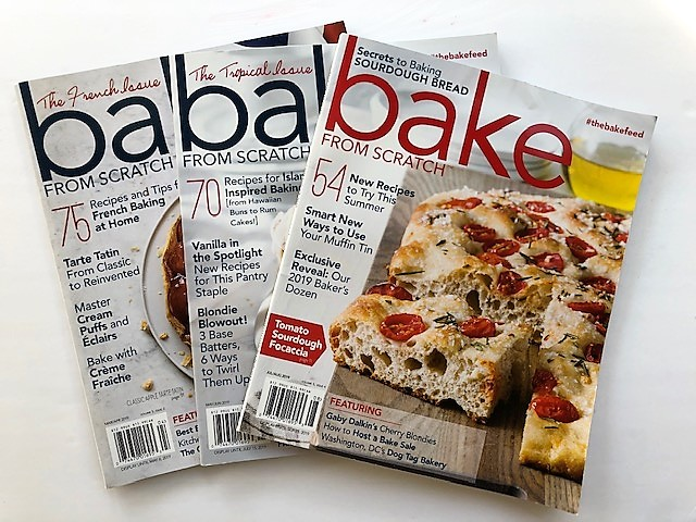 Bake From Scratch magazines