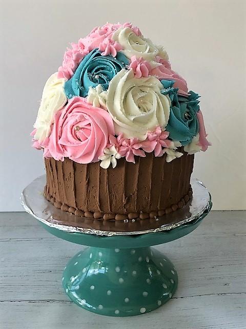 pastel cupcake cake