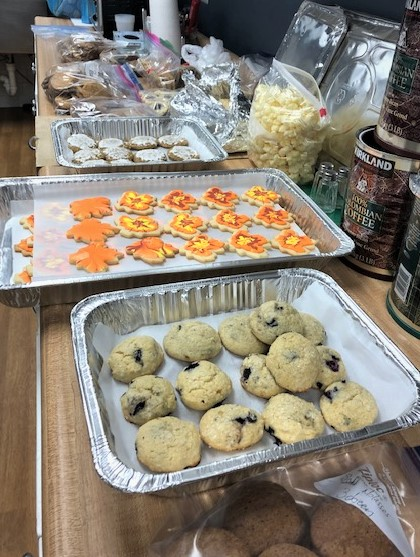 cookie assembly line