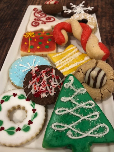 2019 Holiday collection of cookies