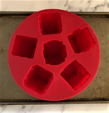 mini cake village silicon mold