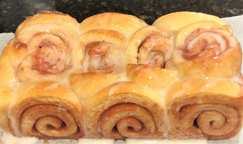 Strawberry Jellyroll bread loaf