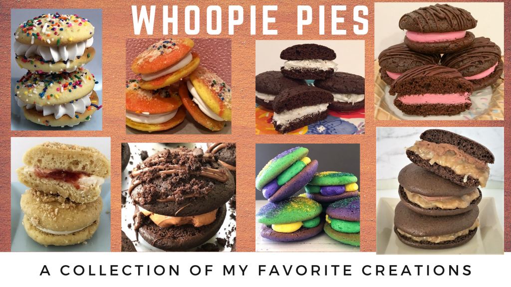 collection of whoopie pies