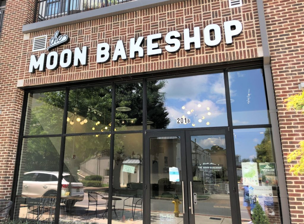 moon bake shop store front