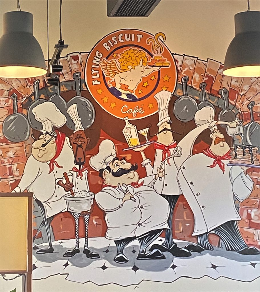 chef mural