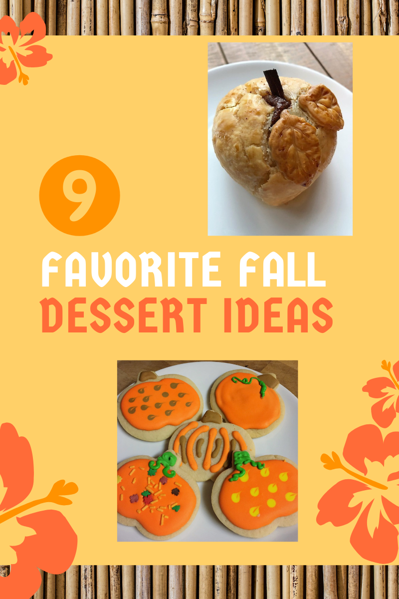 9 ideas for fall dessert banner