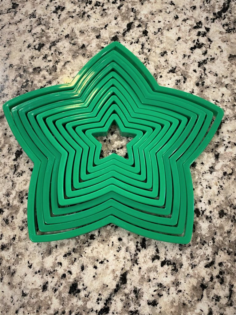 variety of star cookie cutters