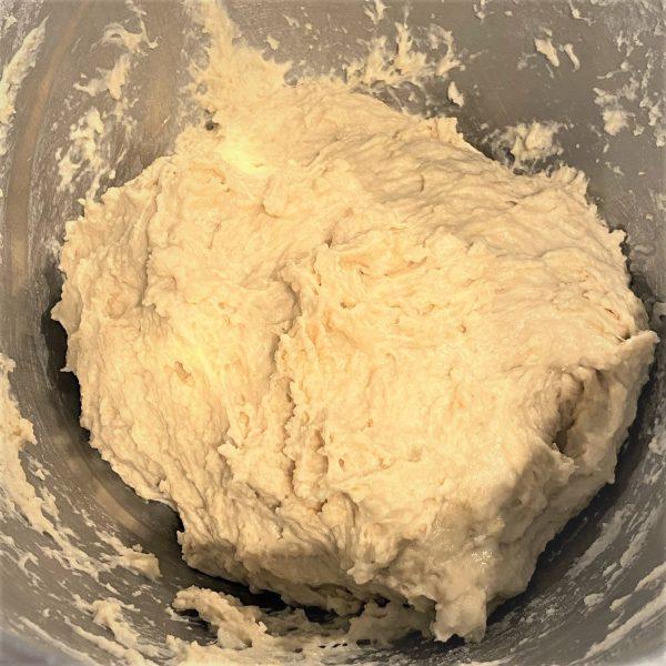 making english muffin dough