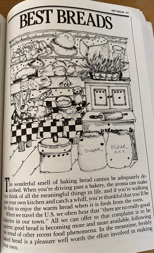 bread page on silver palate cookbook