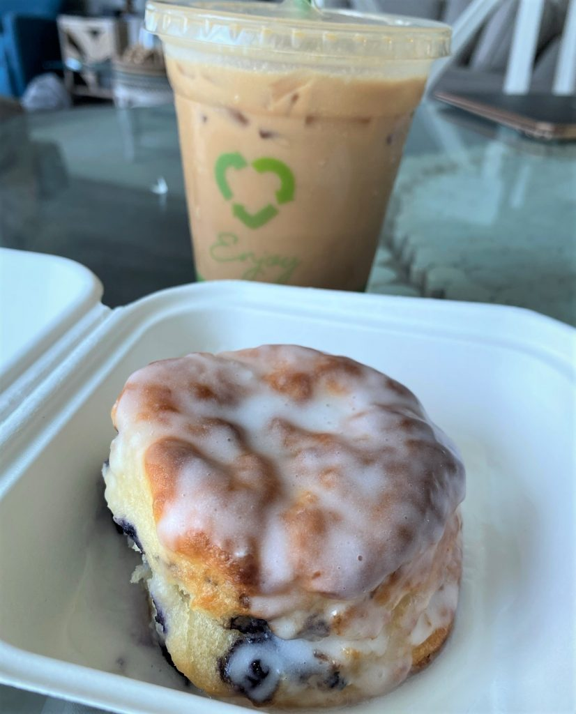 biscuit and coffee