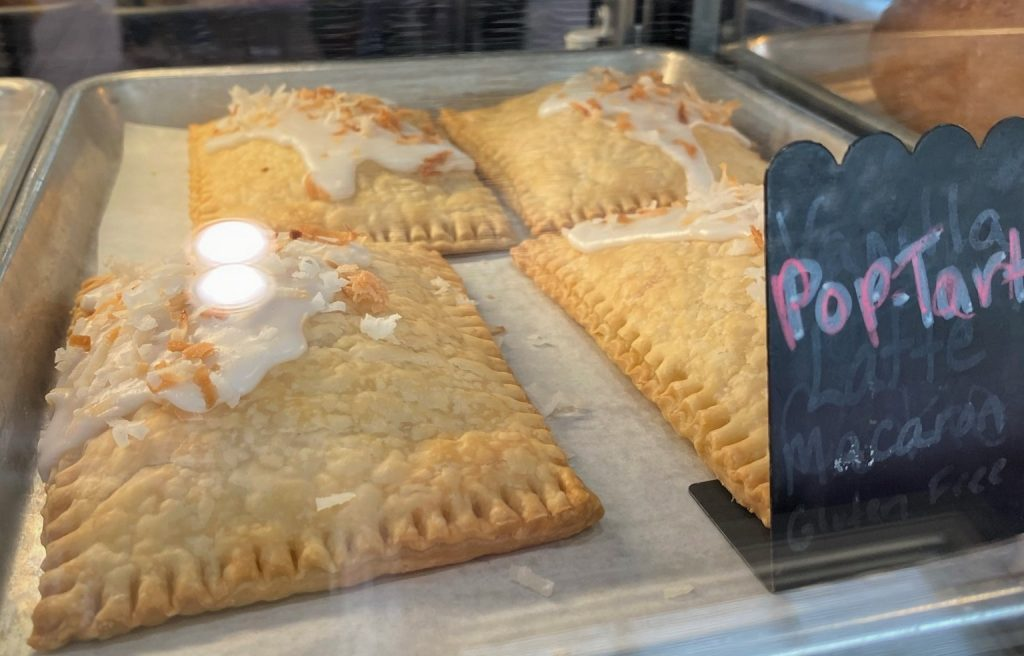pop tarts in bakery case